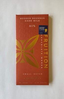 Hudson Bourbon Dark Milk 61%