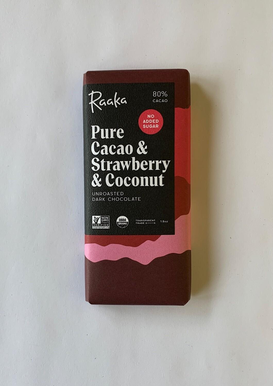 Pure Cacao & Strawberry & Coconut