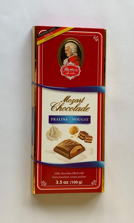 Reber Mozart Chocolate, Praline - Nougat