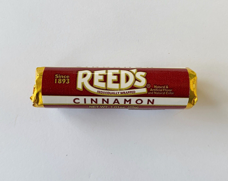 Reed's Cinnamon Hard Candy Rolls
