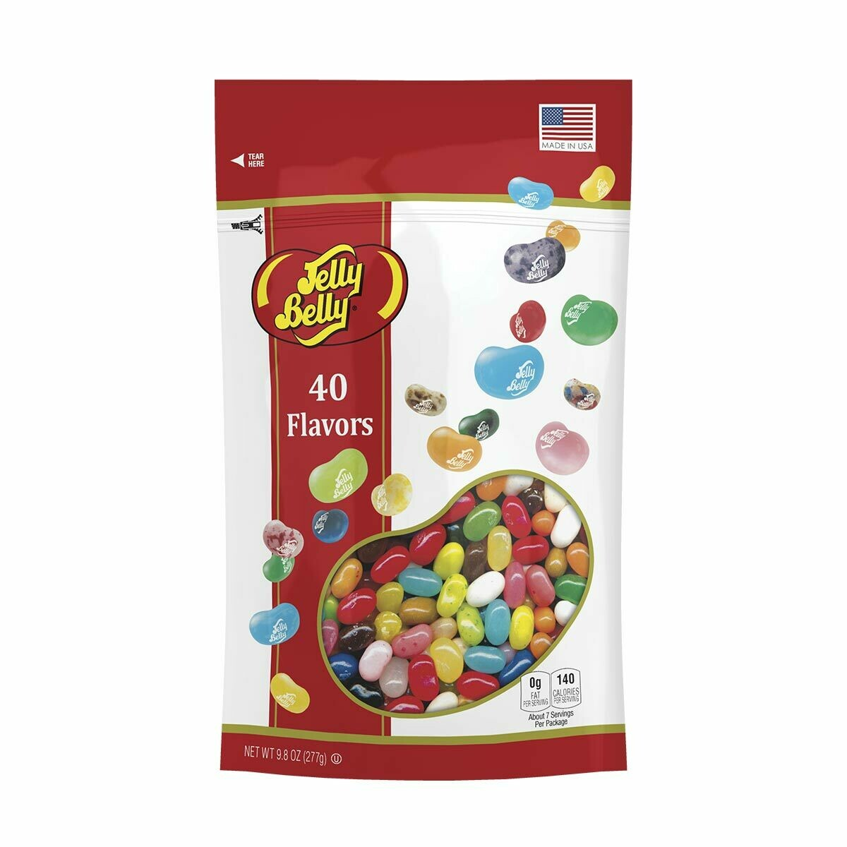 40 Assorted Jelly Bean Flavors