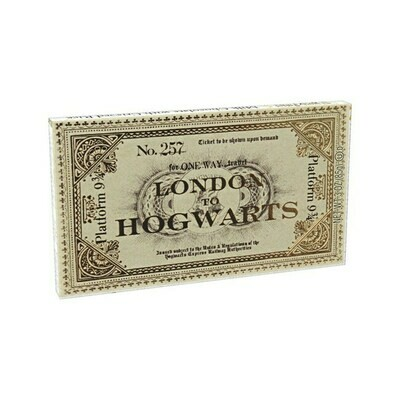 Harry Potter™ Platform 9 3/4 Ticket To Hogwarts Chocolate Bar