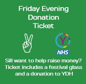 Friday Evening Donation Ticket