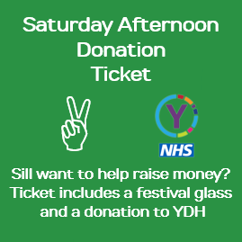 Saturday Afternoon Donation Ticket