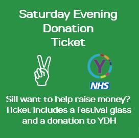 Saturday evening Donation Ticket