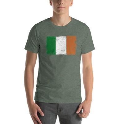 Irish Flag - Short-Sleeve Unisex T-Shirt