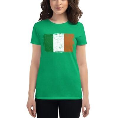 Irish Flag - Women's short sleeve t-shirt