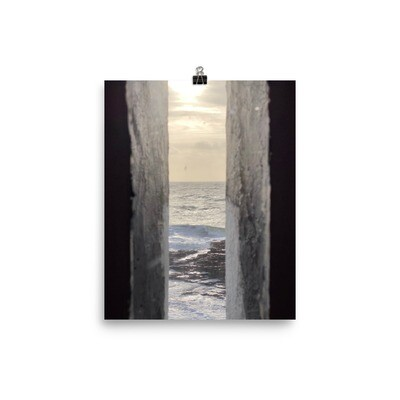 View from Hook Head Lighthouse - Photo paper poster