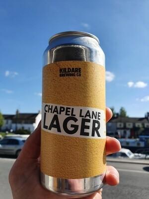 Chapel Lane Lager 4.3% 12 Pack
