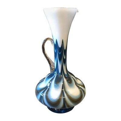 Carlo Moretti Mid-Century Modern Murano Glass Jug, circa 1970