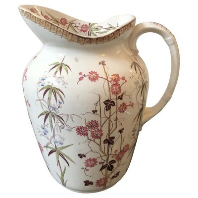 Victorian British Ceramic Jug, circa 1870