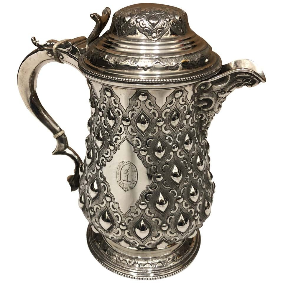 Amazing T. Elkington Victorian English Tankard, circa 1870