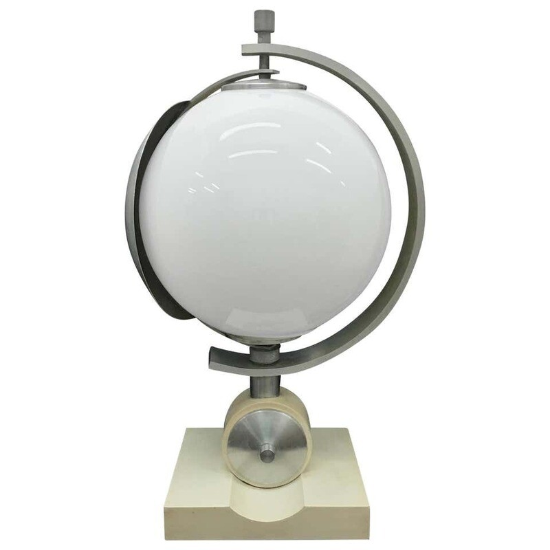 Amazing Space Age Table Lamp, Made in Italy in the 1960s