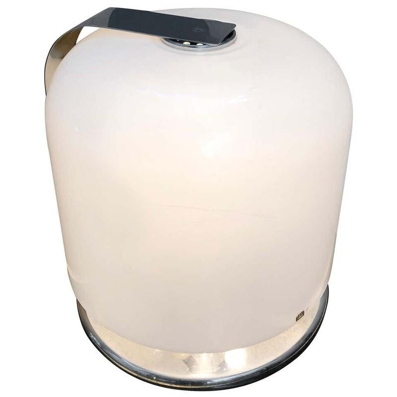Luigi Massoni for Guzzini Space Age Alvise Table Lamp, 1966