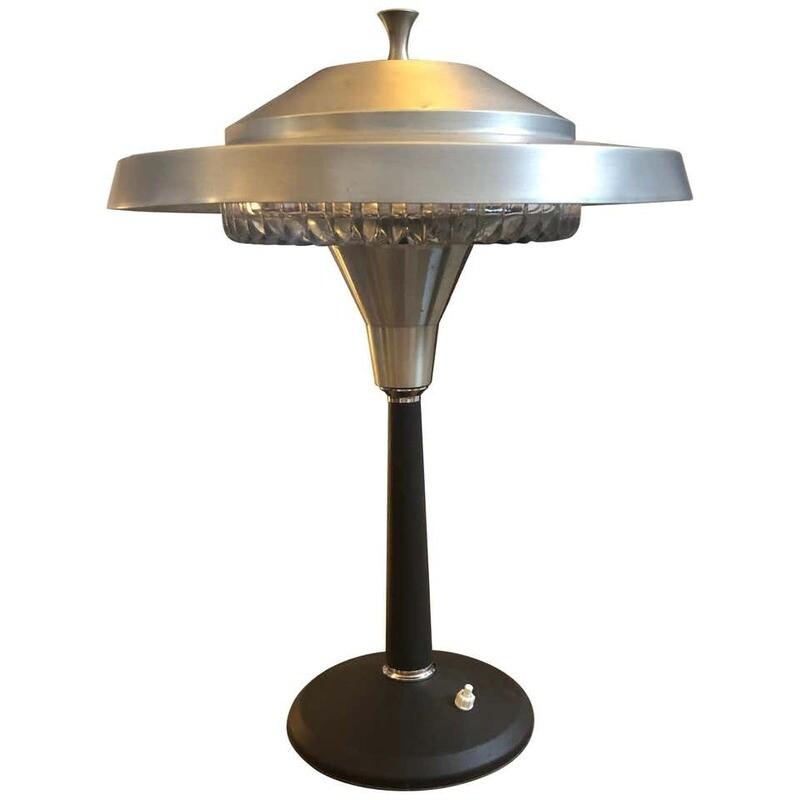 Space Age Italian Table Lamp, circa 1960