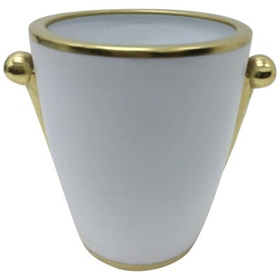 Richard Ginori Porcelain Wine Cooler in the style of Gió Ponti circa 1980