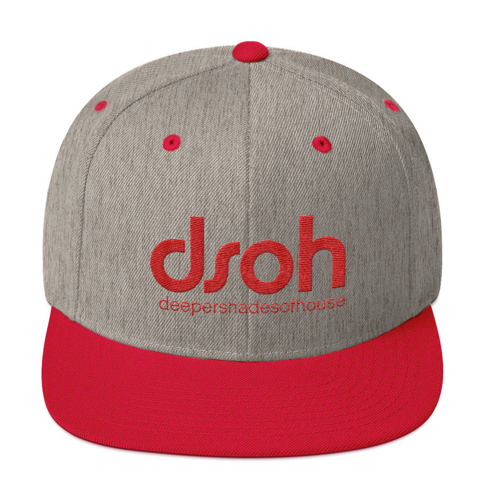 DSOH Snapback Hat FLAT Brim