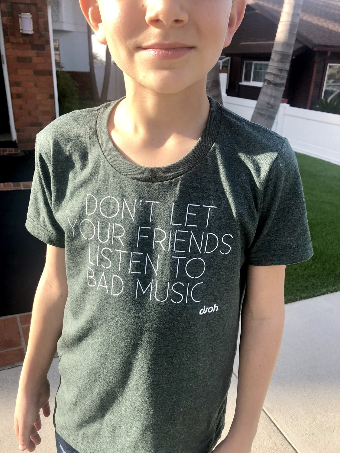 Don't Let Your Friends Listen To Bad Music Youth T-Shirt