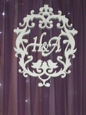Свадебный вензель