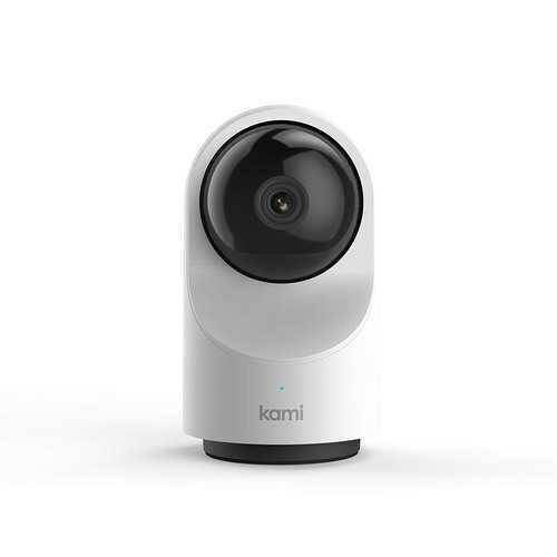 Kami Home Security Camera System 1080p HD Indoor Smart Surveillance Cam, Open Box