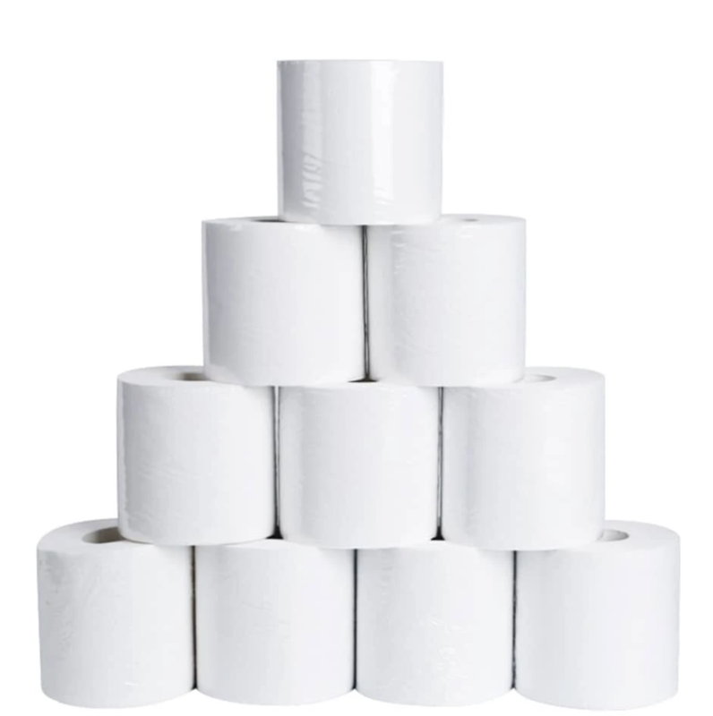 Eco-Friendly 10 Pack Toilet Paper