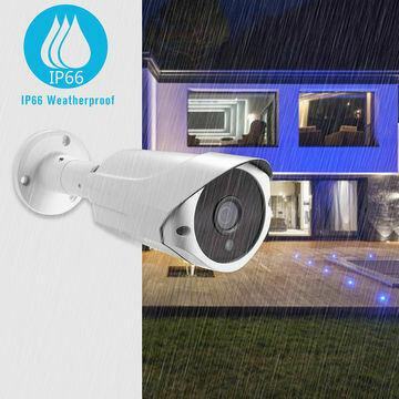 1080P 2MP POE IP Bullet Camera Smart Home Camera