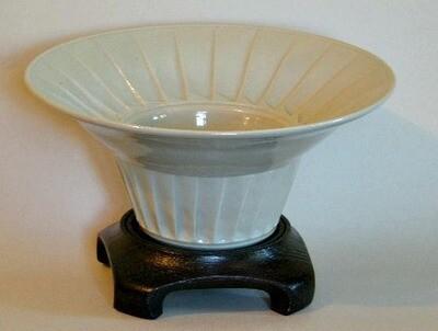 Fluted Celadon bowl