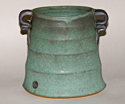Altered Green vase