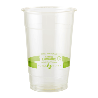 Case of 1000 Clear Cups 20 oz