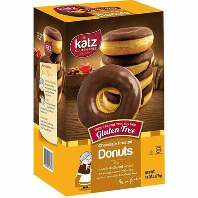Case of 6 x 14 oz Packs of Chocolate Frosted Donuts