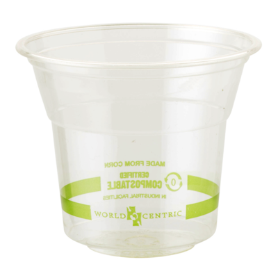 Case of 1000 Clear Cups 10 oz
