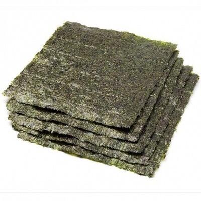Sushi Nori Full Green Seaweed 500ct