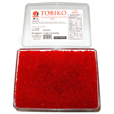 Pack 1.1 lbs - Tobiko Red