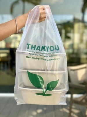 Case of 600 Units or Pack of 50 Units of our Compostable BIO 100% Bags