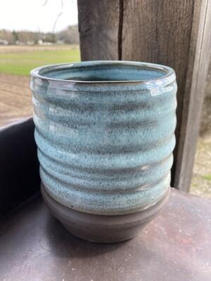 Sea Changes Ceramics | Blue Utensil Crock | item i102