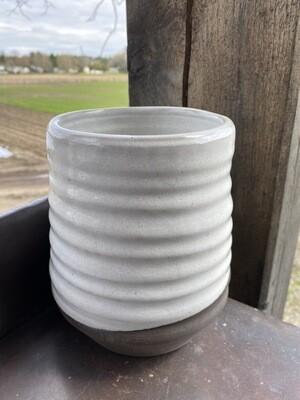 Sea Changes Ceramics | White Utensil Crock | item i101