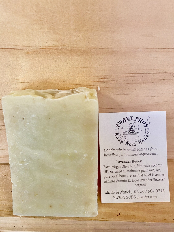 Sweet Suds | Lavender Honey Soap