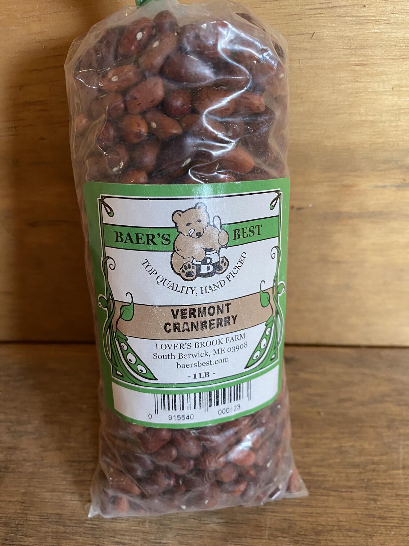Vermont Cranberry Beans | Baer's Best