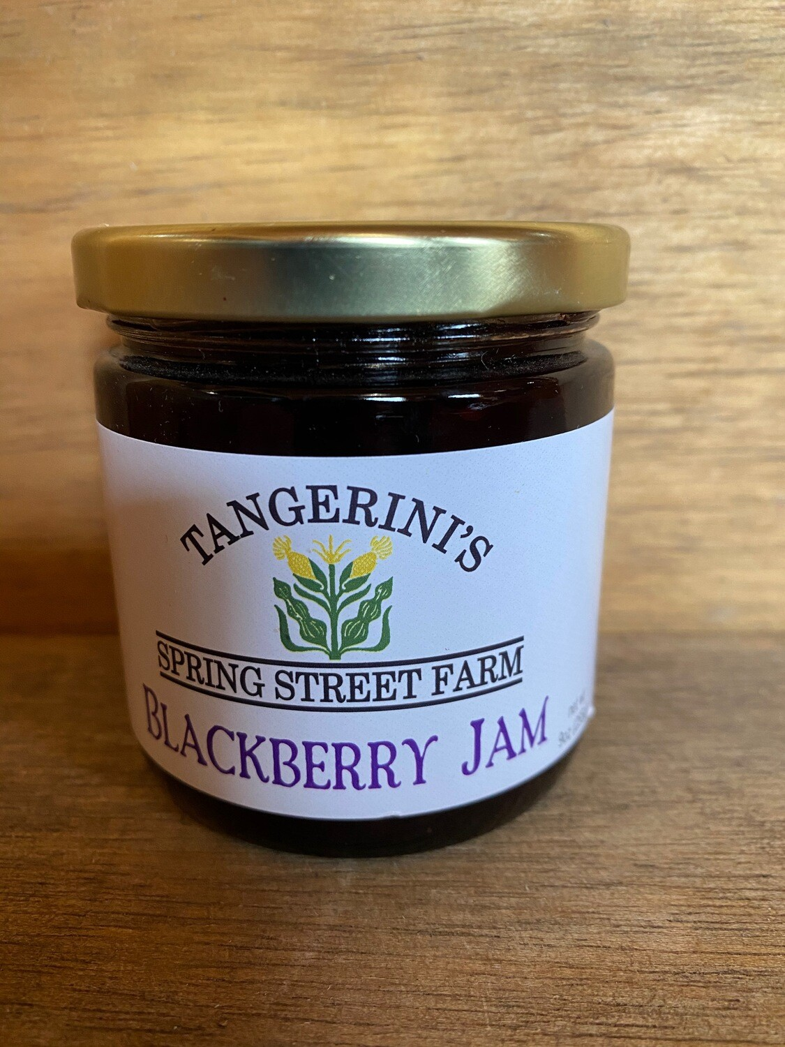 Blackberry Jam | Tangerini's Farm