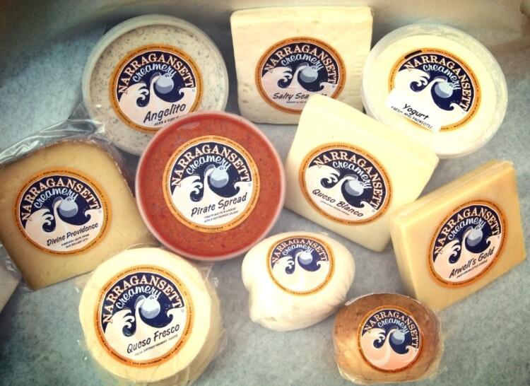 Angelito Garlic & Herb Cheese | Narragansett Creamery | 8oz