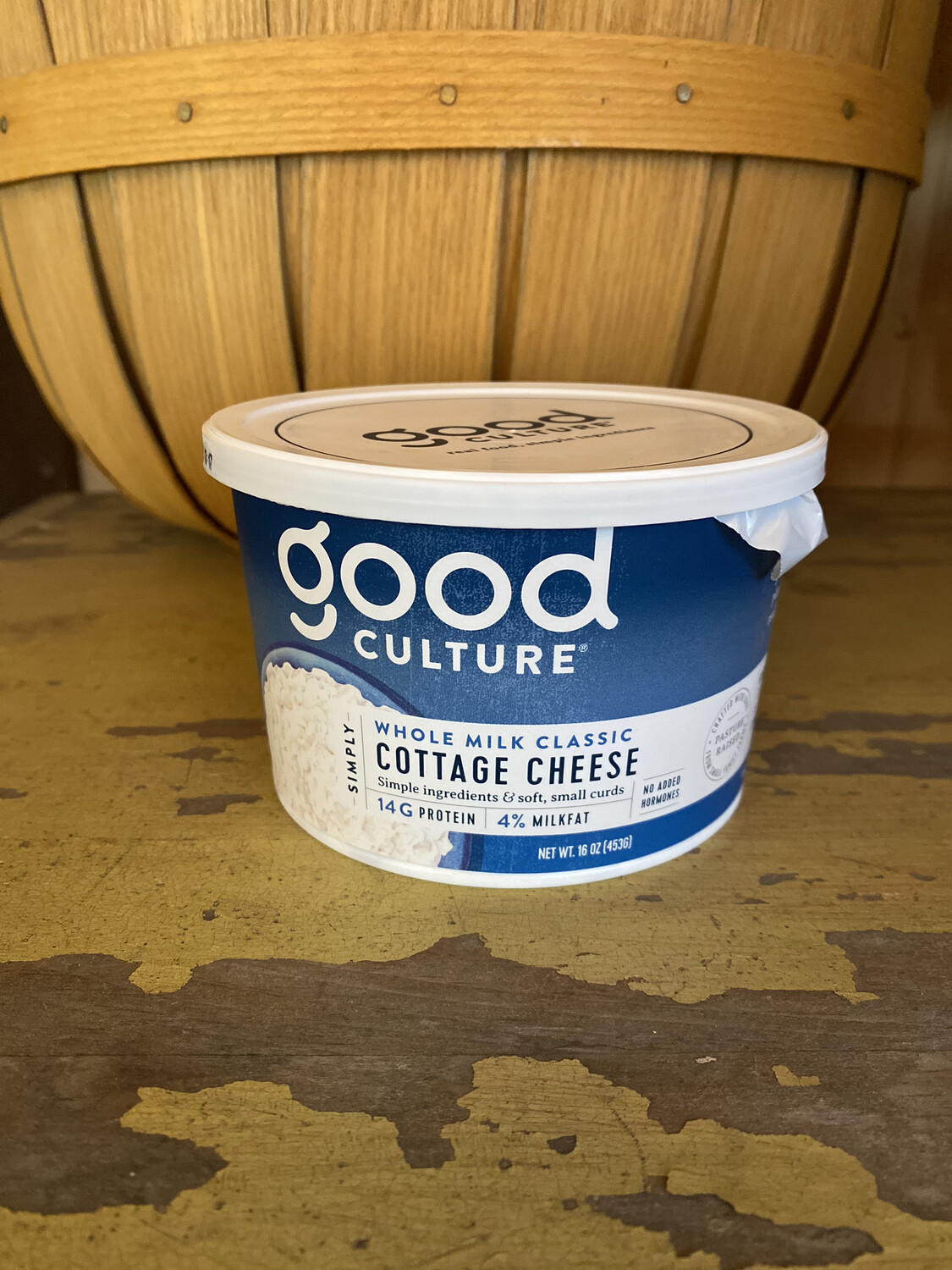 Good Culture | Whole Milk Cottage Cheese | 16oz