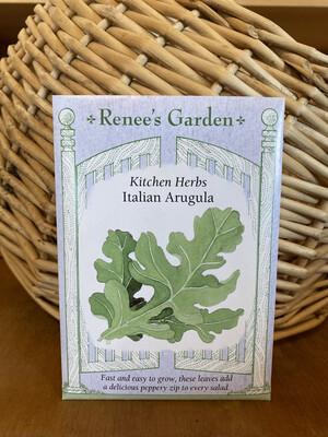 Italian Arugula   Renee's Garden Seed Pack   Past Year's Seeds   Reduced Price