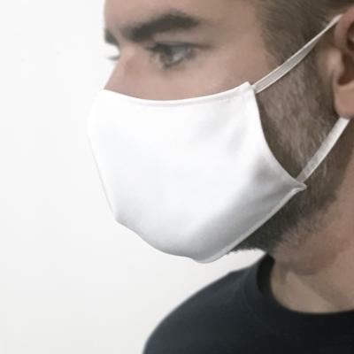 Mascherina protettiva ad uso precauzionale - BIANCA - Conf. 3 pezzi