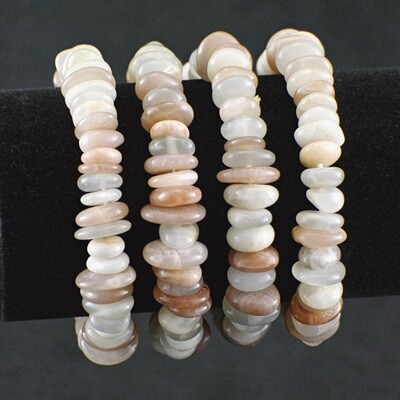 Multicolor Moonstone Bracelet