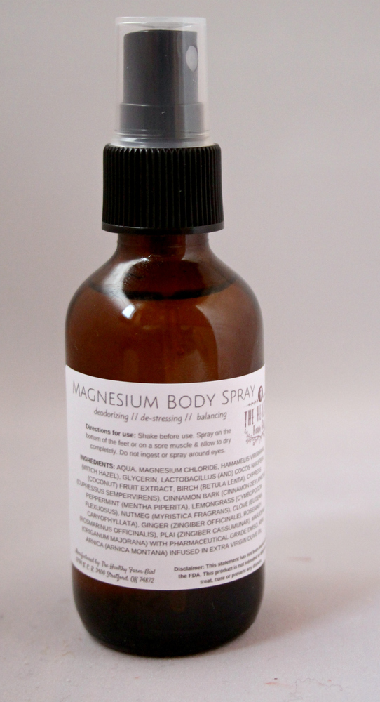 Magnesium Body Spray
