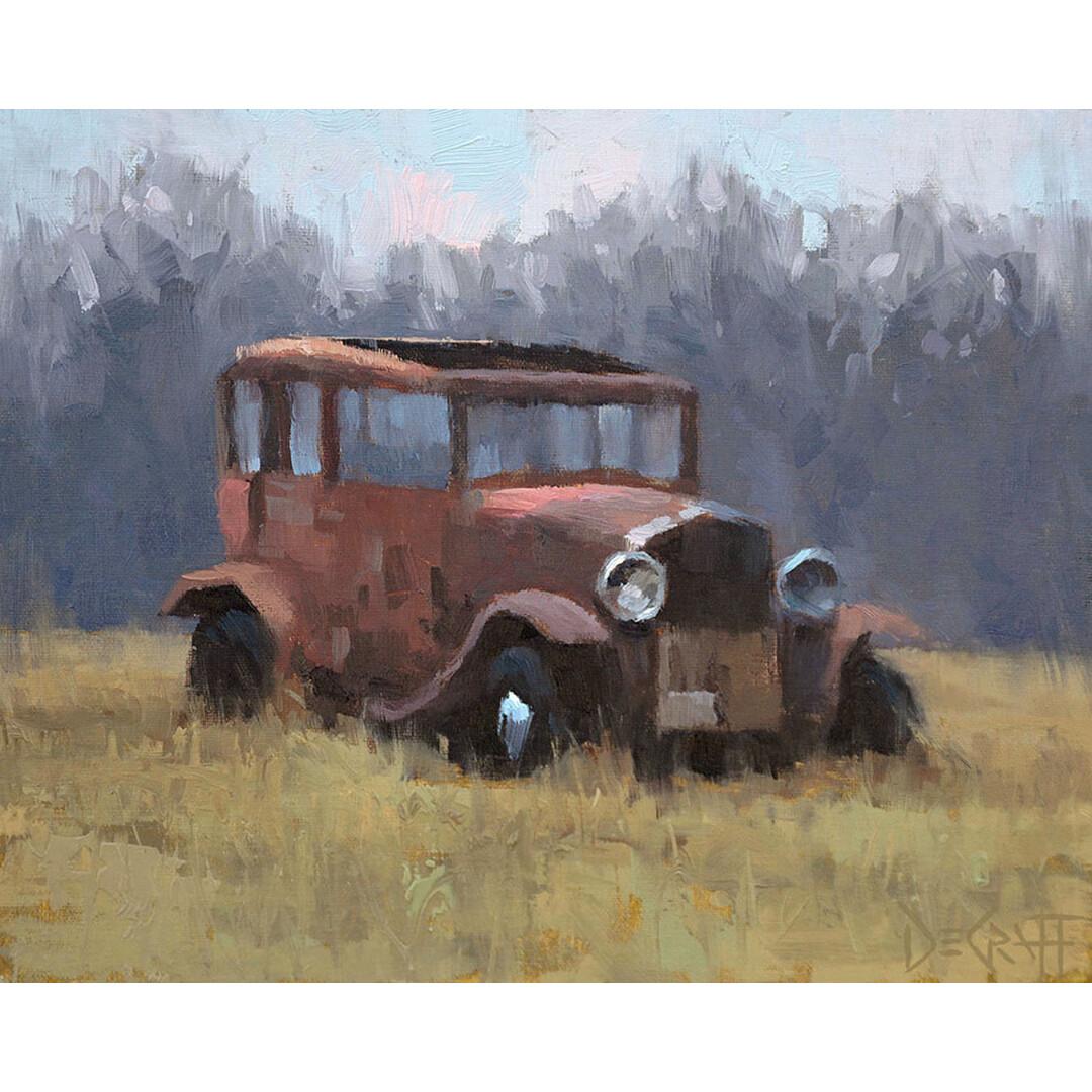 Knob Creek Jalopy by Larry DeGraff