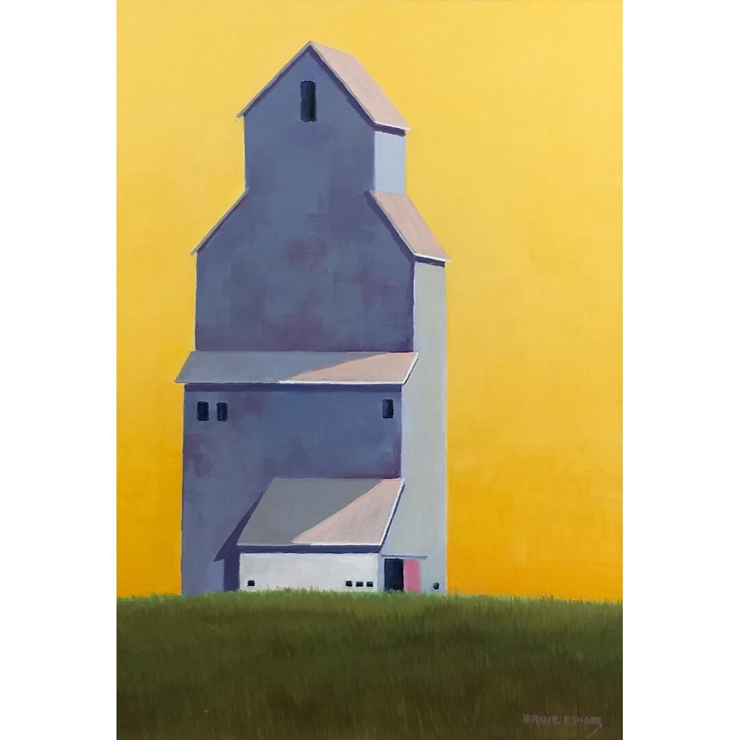 Oxford Grain Elevator by Bruce Ediger