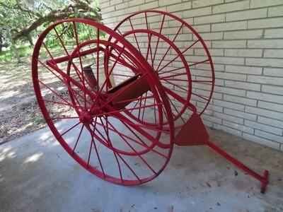 Historic Shell Fire Hose Cart