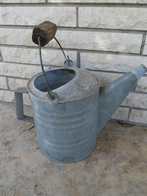 Primitive Farmhouse Watering Can