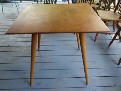 Midcentury Square Kitchen/Game Table